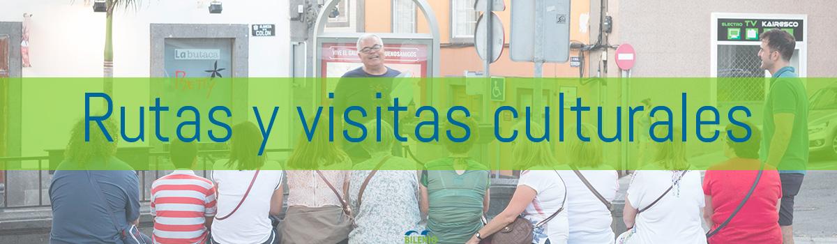 Rutas y visitas culturales.